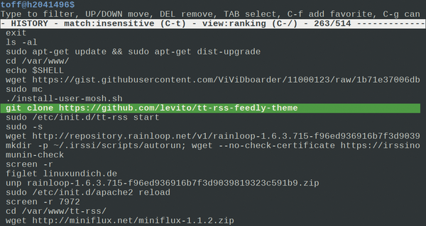 Reusing Previous Commands with the Bash History    » Linux