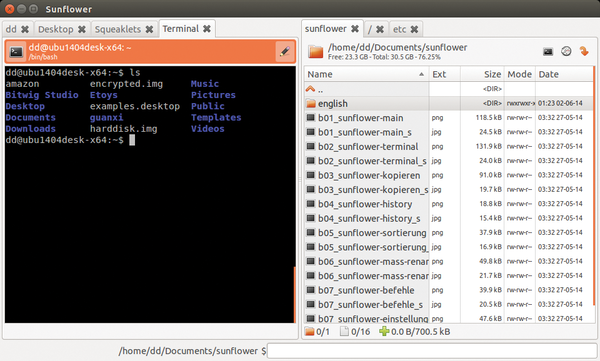 how to close a file in linux terminal