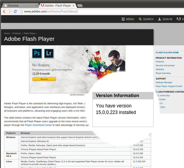 🔥 Adobe flash player 11 2 free download for google chrome | Adobe