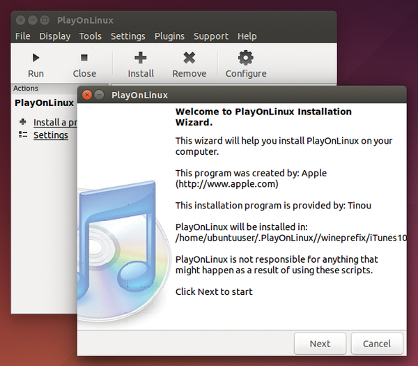 playonlinux ubuntu 15.04 download