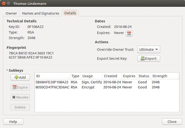 download gnupg for linux mint