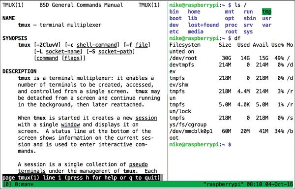 Tutorials – Tmux » Linux Magazine