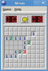 Figure 1: Once we have this small and simple Minesweeper clone running, we know Wine is installed properly.