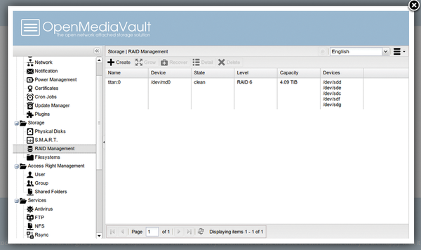Raspberry pi 3 openmediavault download
