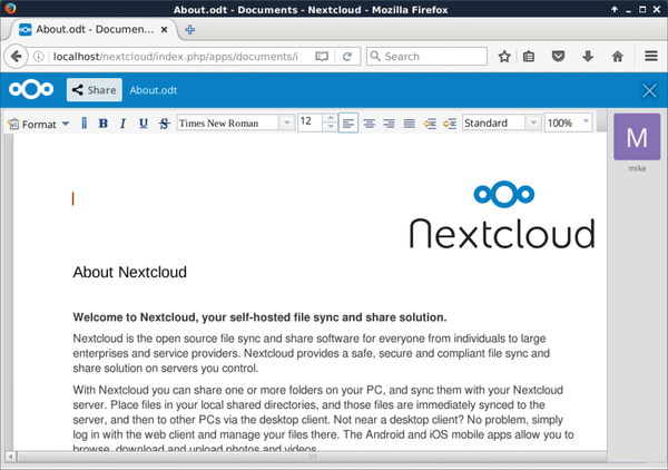 Tutorials – Nextcloud » Linux Magazine