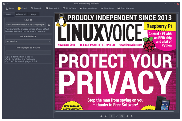 FOSSPicks - Page: 2 5 » Linux Magazine