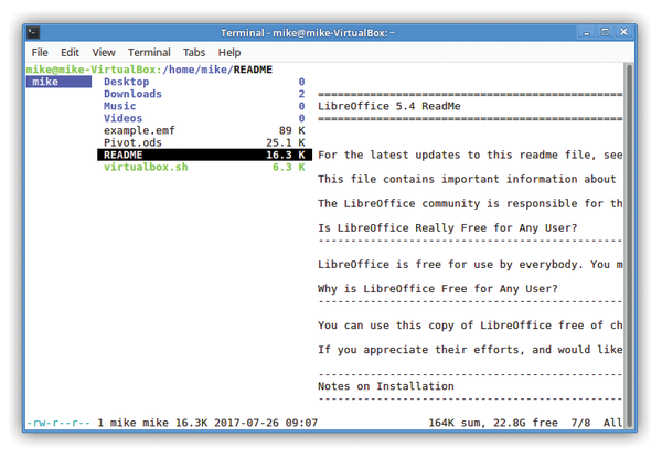 Ranger: Lightning Fast File Management » Linux Magazine