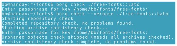 Command Line – BorgBackup » Linux Magazine