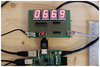 Figure 2: (Top) Countdown counter on a Euroboard; (bottom) Raspberry Pi.