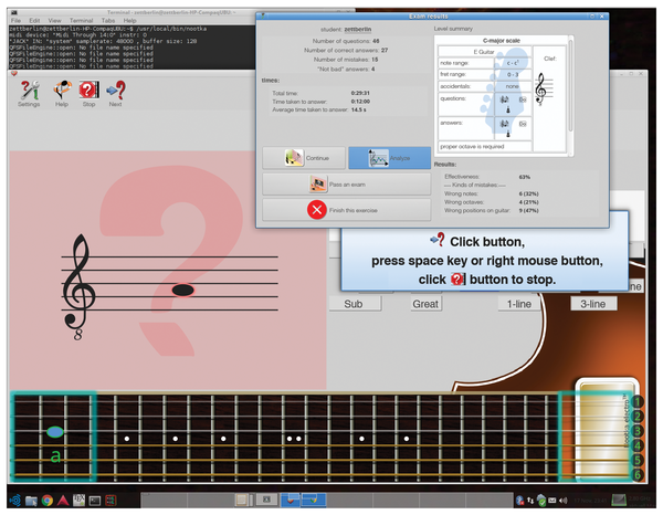 String Theory – Fast guitar training for classi    » Linux Magazine