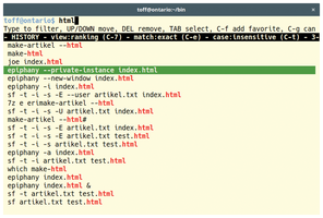 modern terminal emulator hacker news