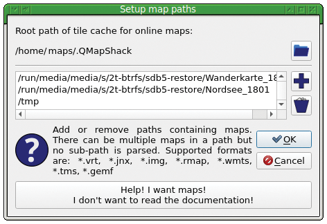 Map Viewer » Linux Magazine