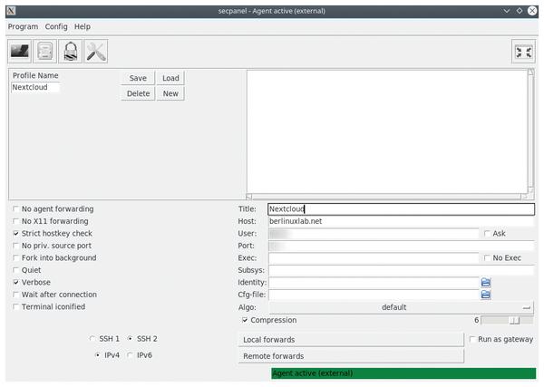 Fedora X11 Forwarding