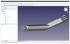 Figure 1: FreeCAD is a very complete CAD system that lets you import pieces from OpenSCAD.