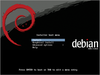 Figure 1: The Debian installer includes many improvements. New features include a new boot menu and improved language support.