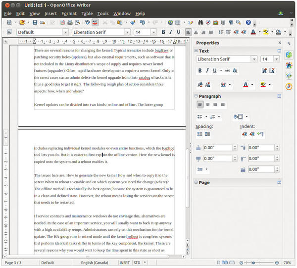 Libreoffice Vs Openoffice Linux Magazine