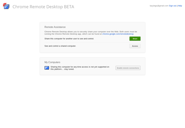 Extension Watch: Chrome Remote Desktop for Goog    » Linux Magazine
