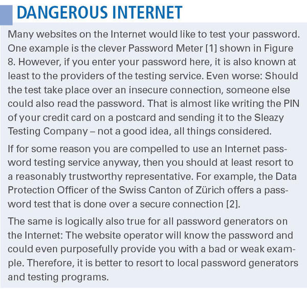 Testing Password Quality » Linux Magazine