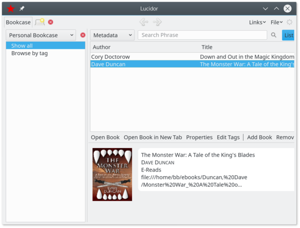 Choosing an Ebook Manager » Linux Magazine