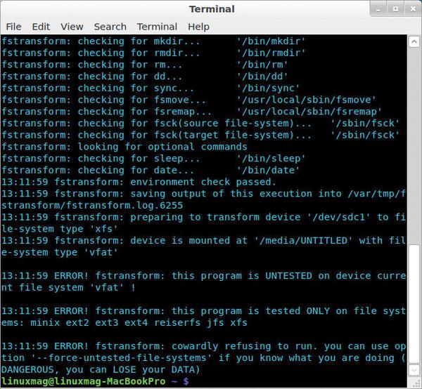 convert exfat to ntfs ubuntu