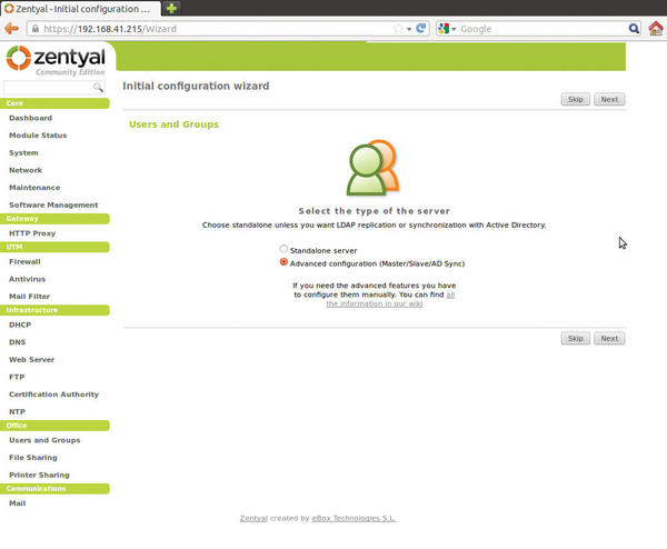 zentyal active directory
