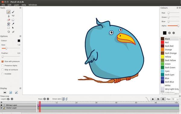 2D Animation Tools » Linux Magazine