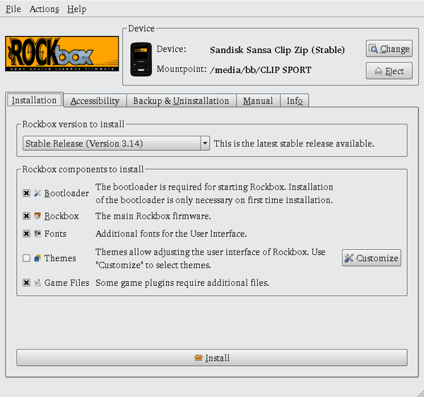 Freeing Your Music Player with Rockbox » Linux Magazine