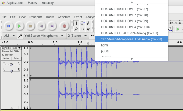 An Open Source Audio Editor and Recorder » Linux Magazine