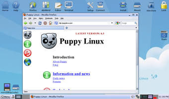Installing Firefox on Puppy Linux » Linux Magazine