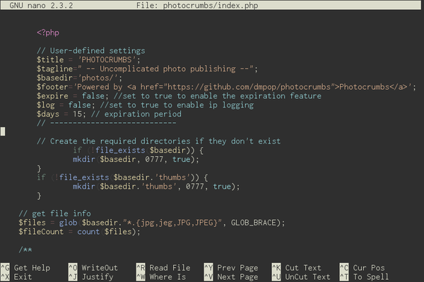Better Syntax Highlighting in nano » Linux Magazine