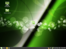 Linux Mint 8 screenshot