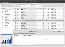 Screenshot Linux Mint Software manager