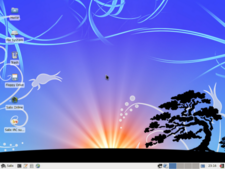 Salix XFCE screenshot