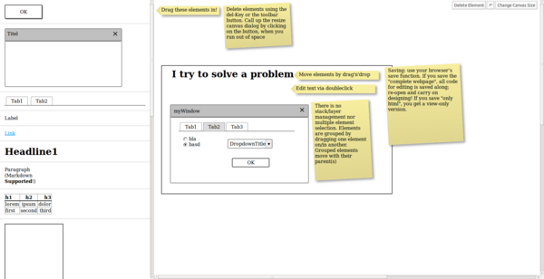 Use QuickMockup for Quick-and-Dirty Prototyping » Linux Magazine