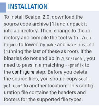 Recovering Deleted Files with Scalpel » Linux Magazine