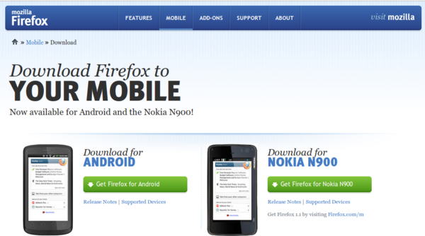 Mozilla Announces Firefox 4 RC for Android and... » Linux ...