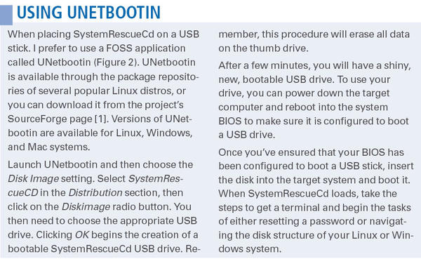 Resetting Passwords with SystemRescueCd » Linux Magazine