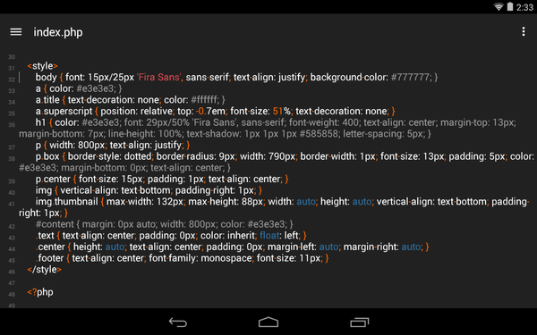 Turbo Editor Open Source Text Editor For Android Linux Magazine