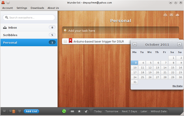 Track Tasks with Wunderlist » Linux Magazine